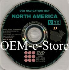 2008 2009 Toyota Land Cruiser Highlander Navigation DVD Map U.S Canada 100% OEM