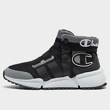 Boys Big Kids Champion Rally Future Casual Shoes Black Size 6Y CP100424Y NEW
