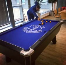 Exclusive 6ft Custom Pool Table Printed With Your Favourite Football Club Logo
