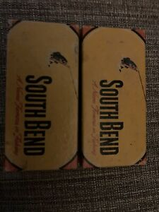 WOODEN SOUTH BEND BASS-ORENO NO. G973 BOX ONLY