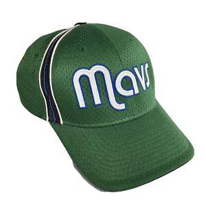 Reebok Retro Green NBA Dallas Mavericks Hat Cap One Size
