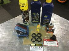 Montesa 4rt Service Kit + Wheel Bearings, Chain Block & Chain Lube