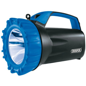 Draper 10W Cree LED Rechargeable Spotlight with Power Bank - 850 Lumens