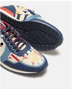 Carolina Herrera CH Sports Runner Sneakers Men   Sz. 8 NEW: Box /Tags