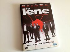 LE IENE Reservoir Dogs DVD Quentin Tarantino