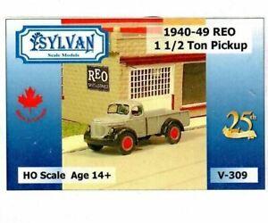 HO 1:87 Sylvan V-309 - 1940-49 Reo 1-Ton Pickup Truck KIT