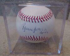 MLB Bruce Sutter HOF Signed Autographed Baseball JSA Certified in Case
