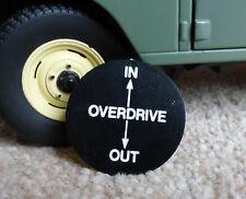 Topplatte Für Fairey Overdrive Schalthebel Knopf Land Range Rover Serie 1 2 2a 3