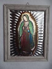 Bild Maria von Guadalupe mit Rahmen Alubild Sonderpreis 2. Wahl