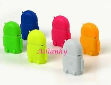 Mini Android Robot  Micro USB OTG Adapter Cable For Mouses Keyboards Smartphone