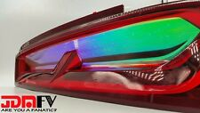 16-17 Chevy Camaro NEO CHROME Tail light Overlays TINT Vinyl wrap CHAMELEON SS