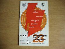 1970 UEFA International Youth Tournament - Played at Stadia throughout Scotland
