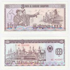 More details for albania 100 leke banknote (1991) p.47a - aunc.