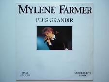 Mylene Farmer Maxi 45Tours vinyle Plus Grandir Live