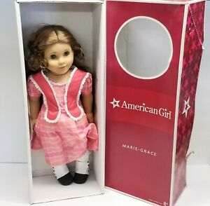 """18"""" American Girl Doll: Marie Grace (Retired) Historical Doll with Original Box"""