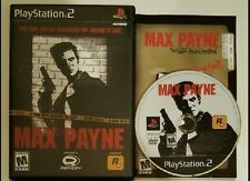 Max Payne 1 Complete Game PlayStation 2 System Console PS2