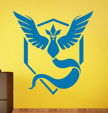 Pokemon Go Team Mystic Wall Decal Vinyl Sticker Home Interior Art Decor (13p)
