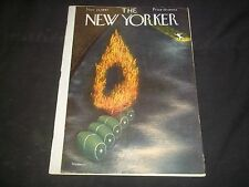1947 NOVEMBER 22 NEW YORKER MAGAZINE - BEAUTIFUL FRONT COVER FOR FRAMING- J 1452