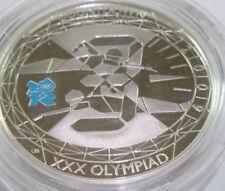 2009 Royal Nuovo di zecca £ 5 CINQUE STERLINE ARGENTO PROOF 2012 GIOCHI OLIMPICI conto alla rovescia 3