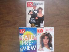 1984 TV Guide 3 Magazines Lot #41 Dallas, Larry Hagman,  NOLA Ed VG
