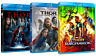 THOR - La Collezione Completa 3 Film (3 BLU-RAY) Chris Hemsworth Natalie Portman