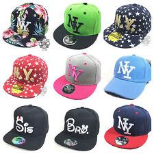 Kinder Cap Snapback Basecap Caps Kappe Baseball Mütze Unisex New York new