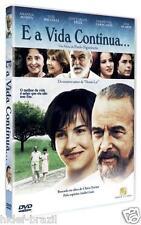 DVD E A Vida Continua  [Chico Xavier] [ English+Spanish+Italian+French+German ]