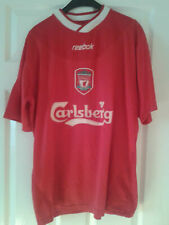 6342d58af4f Mens Football Shirt - Liverpool FC - Home 2002-2004 - Reebok - Red -