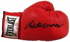 Roberto Duran Hands of Stone Autographed Signed Everlast Boxing Glove ASI Proof