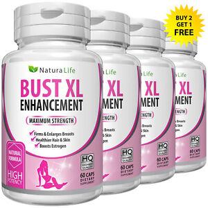 Bust XL Firming Bigger Breasts Enlargement Pills Female Enhancer Capsules