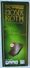MOSER ROTH DARK ROASTED HAZELNUT CHOCOLATE 4.4-OZ 5 BAR PACK