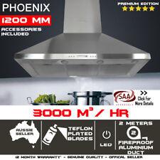 1200mm X 600mm Commercial Canopy Alfresco Indoor Outdoor Rangehood 1.2m S.S.
