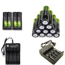 USA 18650Battery 3.7v Rechargeable Li-ion 18650Batteries For LED Flashlights