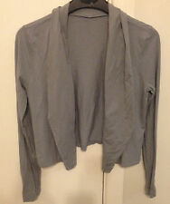 METALICUS pale grey ls short jacket one size