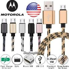 For Various Motorola Tablet - Fast Micro USB Charging Data Sync Charger Cable