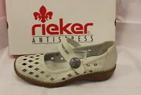 LADIES SHOES/FOOTWEAR - Rieker 41375 bone shoe mary jane