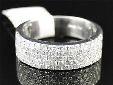 Very Good Cut Sterling Silver Fine Diamond Rings