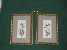 7pc Set Hummingbird & Flowers Pictures & 5 Accent-21x18-Carolyn Shores Wright-92