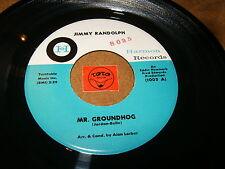 JIMMY RANDOLPH - MR.GROUNDHOG - WALK THE CHALK LINE  / LISTEN - RNB SOUL POPCORN