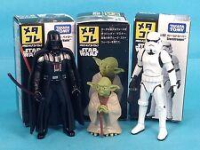 Star Wars Takara Tomy die cast Dark Vader and Stormtrooper Yoda new in box D5