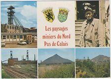 62 - LES PAYSAGES MINIERS DU NORD PAS DE CALAIS - multivues - mine mineur