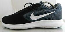 Mens Nike Revolution 3 Athletic Running Shoe Size: 11.5 Color: Grey White Black