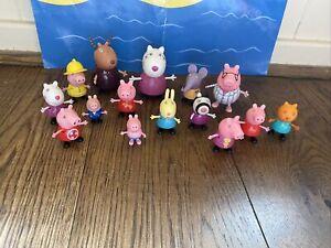 PEPPA PIG FIGURE BUNDLE Of Figures X 15 - Lot 1–lots Peppa Listed