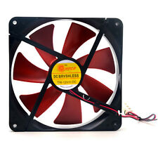 14cm Dia 4Pin 12V Cooling Fan Mute Silent Quiet Cooler for PC Computer Cooling
