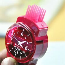 With Brush Kids Gift Eraser Creative Pencil Sharpener Cartoon Watches Design