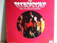 THE  FOUNDATIONS         LP        BABY   NOW  THAT I,VE  FOUND  YOU