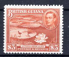 British Guiana $3 Dollars SG 119a lmmint Cat £60 [802] 1938-52