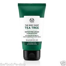 Body Shop SALE ~ TEA TREE MATTIFYING LOTION ~ 50ml ~ Shine Control& Matte Finish