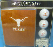 Texas Longhorns NCAA Embroidered Golf Towel Gift Set