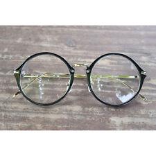 Vintage round shape eyeglasses oliver retro frames 17R33 black eyewear rubyruby